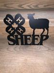 4H Sheep Sign