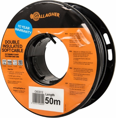 Heavy Duty Leadout Cable 20m 65'