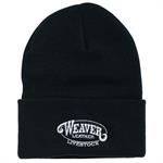 Weaver Knit Hat Black